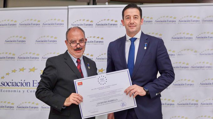 Les Roches Marbella Is Awarded Gold Medal For Merit At Work