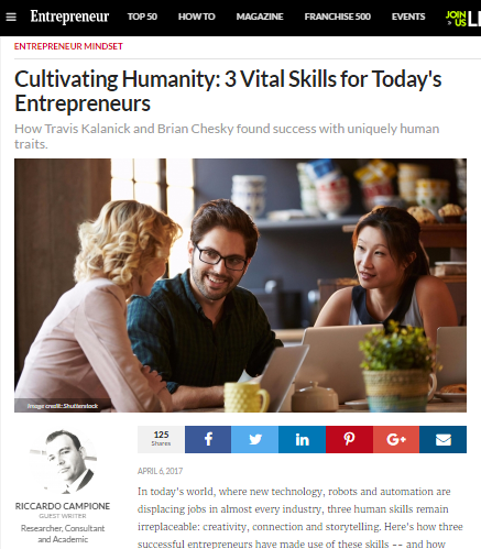 Cultivating Humanity: 3 Vital Skills For Today's Entrepreneurs