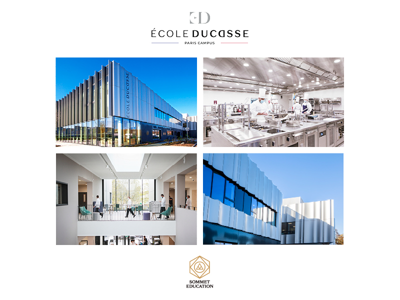 Sommet Education Launches École Ducasse – Paris Campus:  A New Benchmark Location For Culinary Arts Training